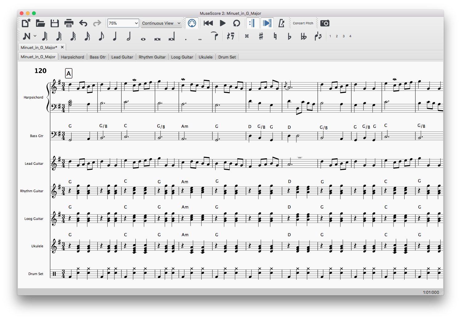 Working with MuseScore | Band Together