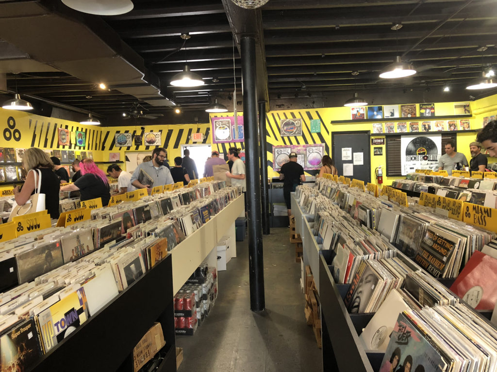 Inside Radio Active Records Record Store Day 2018